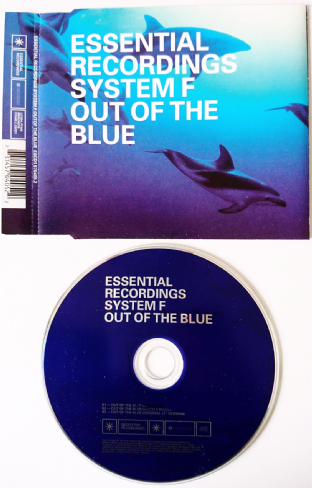 System F - Out Of The Blue (CD Single) (EX-/EX)